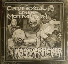 "Catasexual Urge Motivation/Kadaverficker - Split 7""(2016)C.U.M. AGATHOCLES GUT"