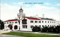 Colorado CO El Jebel Mosque Denver Postcard Old Vintage Card View Standard Post