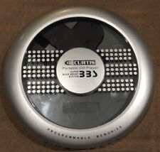 Curtis Portable CD Player Model CD249 (Tested And Working)
