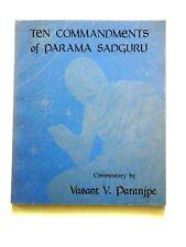 Ten Commandments of Parama Sadguru, Hinduism, Paranjpe
