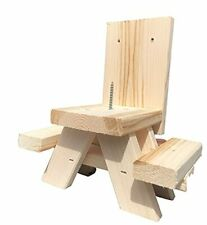 New listing Cute and Fun Picnic Table Squirrel Feeder