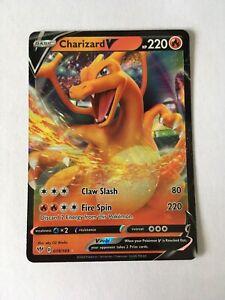 Pokemon CHARIZARD V 019/189 Darkness Ablaze Ultra Rare Holo Foil Mint