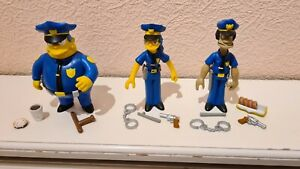 Officers Marge Lou Wiggum The Simpsons Interactive Figures WOS World Of Simpsons