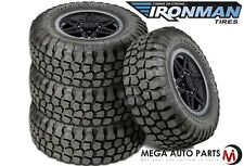 4 X New Ironman All Country M/T 33X12.50R15/6 108Q OWL All Terrain Mud Tires