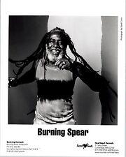 RARE Original Press Photo of Burning Spear a Jamaican Roots Reggae musician