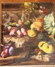 Phillips Blenstock House  auction catalog Fine Old Master Paintings 1987