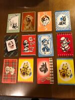 12 Vintage Swap Playing Trading Cards Dogs Dog Card