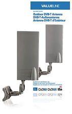 ANTENNE EXTÉRIEUR INTERIEUR TNT HD DVB-T DVB-T2 15 dB LTE CAMPING CAMION BATEAU