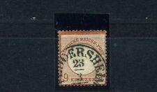 Dt. Reich 9 Kr. gr. Schild 1872 Prägefehler Michel 27 a Attest (S10127)