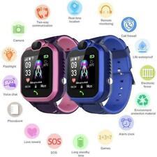 Smart Children's Phone Watch Touch Screen IP67 Kids SOS LBS Smart Watches GIFT