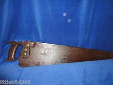 ANTIQUE E.C. SIMMONS KEEN CUTTER-25' BLADE 8 tpi -NICE PATINA-GREAT WALL HANGER