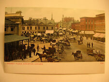 1905-1910 Kingston, Canada, Market Place Postcard