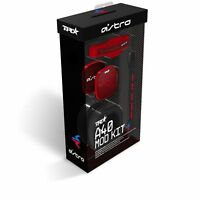 NEW - ASTRO Game Gaming A40 TR Mod Kit Noise Cancelling Conversion Kit - Red