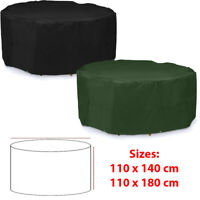 Large Round Waterproof Outdoor Garden Patio Table Chair Set Furniture Cover