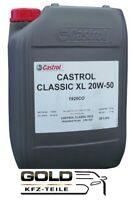 20W 50 Castrol Classic XL 20 Liter Motoröl Oldtimeröl 20w-50 Castrol