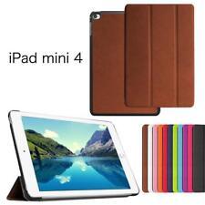 iProtect Slim Kunstleder Smart Case Apple iPad Mini 4 Cover Hülle in Braun