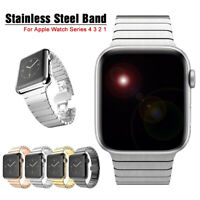 40/44mm Stainless Steel Link Band iWatch Strap Bracelet for Apple Watch 5 4 3 2