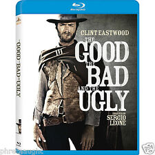 THE GOOD, THE BAD AND THE UGLY REMASTERED BLU-RAY - CLINT EASTWOOD