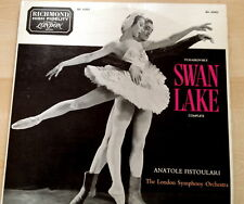 TCHAIKOVSKY-SWAN LAKE FISTOULARI 2 LP SET 1959-CLASSIC EARLY LSO RECORDING VG++