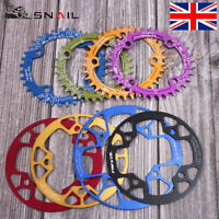 32-42T 104BCD Aluminum alloy Round/Oval MTB Road Bike Chainset Chainring Bolts