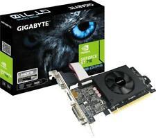 Gigabyte GT 710, 2 GB GDDR5, VGA, DVI, HDMI Grafikkarte