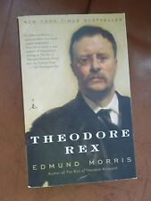 Theodore Rex by Edmund Morris Paperback Roosevelt