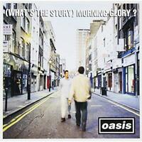 Oasis (What's The Story) Morning Glory ? Japan CD ESCA-6290 w/OBI 1995