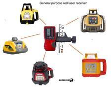 Universal Rotary Laser Receiver Detector Dual Display Topcon Leica Cst Pls Ab92r