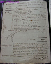 doc054 - ACQUISITION DE BIENS NATIONAUX 1791 CHARTRES
