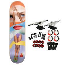 "Almost Skateboard Complete Girl Collage Amrani 8.125"""