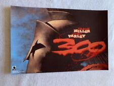 "Frank Miller's 300/XERXES - 11""x17"" D/S Original Promo POSTER NYCC 2019 MINT"