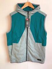 Under Armour UA Men's Pursuit Safari Sleeveless Hoodie Vest-Large (L) - Teal