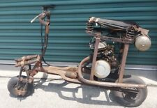 WW2 German Mini Bike Motorcycle Sachs SM98 Motor Effzett Tank Magura Lever WOW