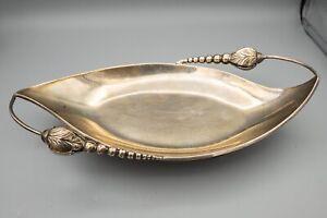 Vintage Mexico Sterling Silver Bowl, Blossom Design, Mexican, MERC / MERO – 230g