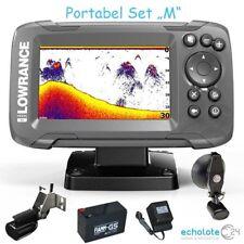 Hook2 4x GPS Lowrance Echolot Portabel Master Edition Plus Komplettsystem