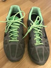 Nike Air Max 2011 Cool Grey Black Lime Sz 10 Grey/Green 2007 2006