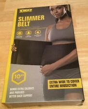 Tko Slimmer Belt 10� Wide Waist Trimmer New ExtraWide to Cover Entire Midsection
