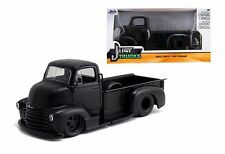 Jada Toys 1:24 W/B Just Trucks 1952 Chevrolet Coe Pickup Diecast Car Matte Black