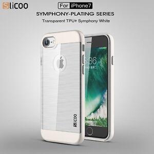 Original SLiCOO Apple iPhone 7 –  weiß - Handy Hülle Schutzhülle Case mit TPU