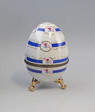 9973198 Porcelain Lid Box Egg Egg Cup 4 11/16x8 1/8in