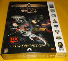 STAR TREK STARFLEET COMMAND VOLUME II EMPIRES AT WAR Pc 1ª Ed Big Box NUOVO - CH