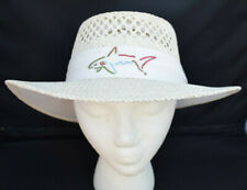 Greg Norman Signature Shark Tour Logo Official Straw Hat