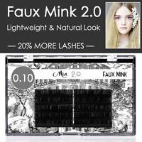 Volume 0.10 Faux Mink Lash Individual Eyelash Extension Semi Permanent 3D Sets