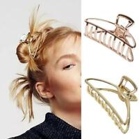Ladies Large Hair Claw Clamps Hair Clip Butterfly Claws Clamps-Accessories-