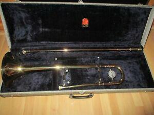 1965 CG CONN ELKHART 6H PROFESSIONAL TROMBONE # E81xxx - Excellent Condition !!!