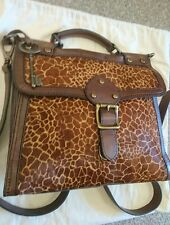 FOSSIL LEATHER MADDOX BAG MESSENGER BAG EXCELLENT CONDITION.
