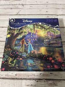 Ceaco Disney Thomas Kinkade 750 Piece Jigsaw Puzzle Princess and the Frog NEW