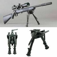 "Rotating 6-9""Adjust Harris Style Spring Return Bipod&Swivel Pivot Lock for Rifle"