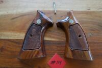 Smith Wesson K  L  Frame Grips Square Butt Type Original Condition W/ Screw