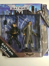 DC BATMAN BEGINS LT JIM GORDON PROTOTYPE SUIT BATMAN LEGACY EDITION 2 PACK DCUC